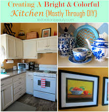 Colorful Kitchens Restoration Beauty Creating A Bright Colorful Kitchen Mostly
