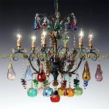 murano glass fruit chandelier chandelier bar
