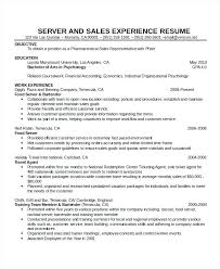 Waiter Resume Examples Delectable Sample Of Waiter Resume Waitress Resume Example Cocktail Sample