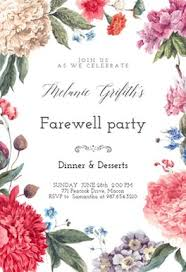 Invitation Cards For Farewell Party Retirement Farewell Party Invitation Templates Free Greetings