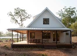 one story farmhouse with wrap around porch type