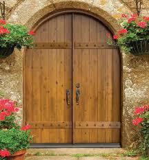 rustic double front door. Entry Double Door 96 Wood Alder Rustic Plank Round Top Solid Mediterranean- Entrance Front U