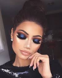 do you want to walk into a party hall and instantly make heads turn this is your go to makeup for a blue dress then