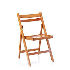 copper wooden folding chair