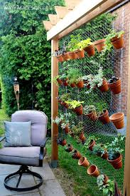 hanging wall garden design