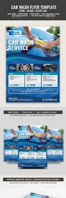 Car Wash Flyers Templates Business Promotion Car Wash Car Wash ...