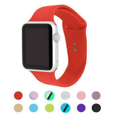 Classic <b>Silicone Bands for</b> Apple <b>Watch</b> - Epic <b>Watch Bands</b>
