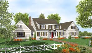 2 story cape cod home plans for
