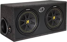 speakers in box. amazon.com: kicker 10dc122 enclosed car audio subwoofer: cell phones \u0026 accessories speakers in box