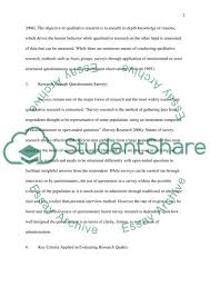 Surveys Questionnaires Examples Questionnaire Survey Method For Research Essay Example