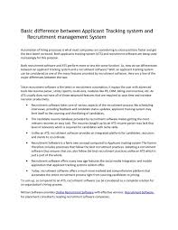 Calameo Basic Difference Between Applicant Tracking System And