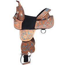 Western Saddle Seat Size Chart Amazon Com Manaal Enterprises Youth Child Western Premium