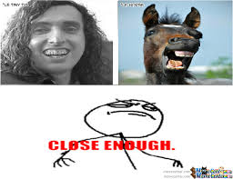Tiny Tim Vs Horse by leatherface - Meme Center via Relatably.com