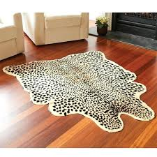 area rug zebra shaped best rugs palm tree affordable small round animal print for living room