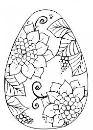 Pull up a chair with your little one and enjoy coloring together. Get This Adults Printable Easter Egg Coloring Pages 86904