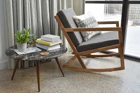 nursing rocker modern nursery glider rocking chairs on black rocker recliner amish glider