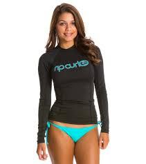 Rip Curl Womens Surf Team Long Sleeve Rashguard At