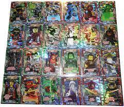 LEGO Ninjago 2 (Serie 2) Alle 24 Super Holo Karten: Amazon.de: Spielzeug