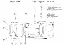 1976 fiat spider wiring diagrams diagram 1 relay locations