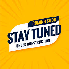 Free Vector   Coming soon stay tuned under construction design