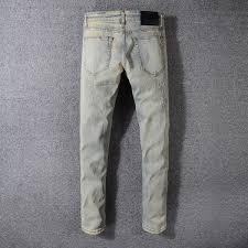 Mens Grey Designer Jeans 2019 2019 Mens Designer Jeans Slim Fit Mens Motorcycle Biker Denim Jeans Dgn2 Hip Hop Mens Denim For Men Luxe Depour Hommes Rock Revival From