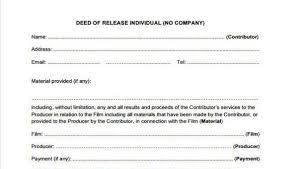 Beneficiary Release Form Fascinating 48 Deed Release Form Samples Free Sample Example Format Download