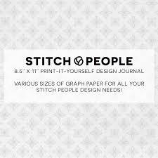 Free Printable Cross Stitch Design Journal Stitch People