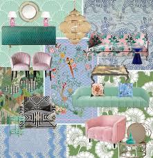 Floral Waves Mood Board - Wendy Morrison Design