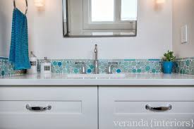 mosaic glass bubble tile