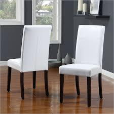 magnificent white leather dining room chairs and best pertaining to in plans 0