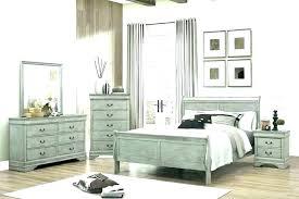 Distressed Wood Bedroom Furniture Image Of Elegant Sets Grey ...