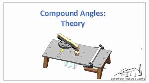 Compound Miter Angle Chart How To Calculate Compound Cuts