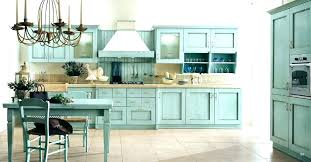 kitchen distressed kitchen cabinets blue aqua image navy light