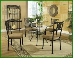 awesome dining table round room sets with settee of glass top