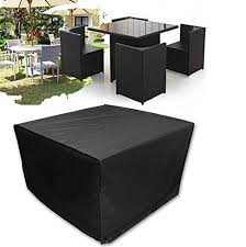 rattan furniture covers. Furniture Cover - Aulola Big Fitted Cube For Outdoor Garden Rattan Waterproof Dustproof Snowproof Covers