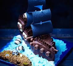 Pirate Ship And Treasure Island Cake Recipe Bbc Good Food