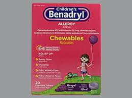 Benadryl Chart For 2 Year Old Childrens Benadryl Allergy Oral Uses Side Effects