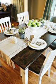 Image Furniture Repair Refinish Dining Room Table So Pretty Love The Dark Wood And The Country White Pinterest Refinish Dining Room Table So Pretty Love The Dark Wood And The