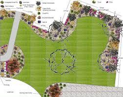 Front Yard Landscape Design Plans Free Plan For Big Front Yard Landscape Front Yard Landscaping