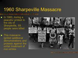 「1960 – Apartheid: Sharpeville massacre,magazines articles」の画像検索結果