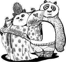 Kids N Fun 7 Kleurplaten Van Kung Fu Panda 3 Within Kung Fu Panda