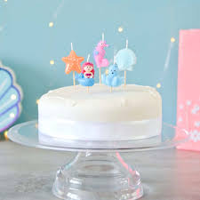 Under The Sea Themed Birthday Party Cake Candles