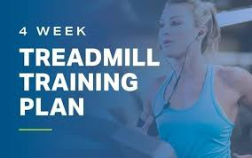 4 Week Treadmill Training Plan Fitness Myfitnesspal