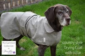 Freckles Designs Dog Coats Dog Drying Coat Gartmorn Microfibre Towelling Freckles