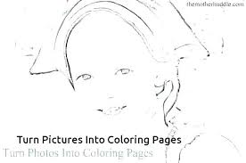 Make Coloring Pages From Photos Free Photoshop Online Your Own Page