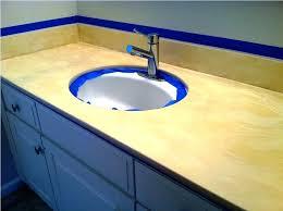 painting bathroom vanity top countertop