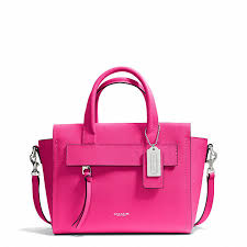 ... Bags Coach Bleecker Mini Riley Carryall In Saffiano Leather ...