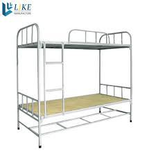Steel Bedroom Furniture Steel Triple Bunk Bed Steel Triple Bunk Bed Suppliers And
