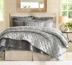 Isabelle Tufted Voile Quilt & Shams   Pottery Barn & Isabelle Tufted Voile Quilt & Shams Adamdwight.com