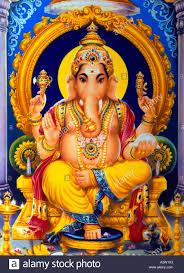 God Lord Elephant Ganesh Photo Alamy Stock 6055522 -